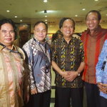 Rektor Universitas Palangka Raya menghadiri RAKERNAS KEMENRISTEKDIKTI 2016